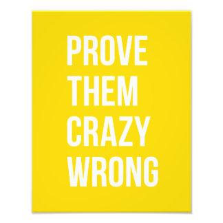 Pruebe el amarillo de la cita del éxito fotografías