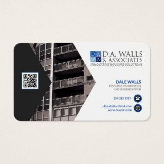 Pruebe la tarjeta tarjetas de visita