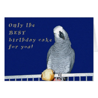 Pruebe la torta tarjeta de felicitación