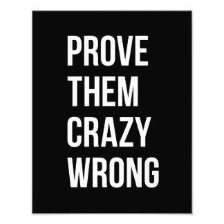 Pruebe las citas de motivación W negro Bol del Cojinete
