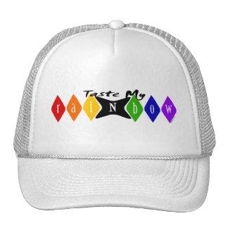 Pruebe mis gorras del arco iris