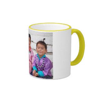 pruebe publican taza de dos colores