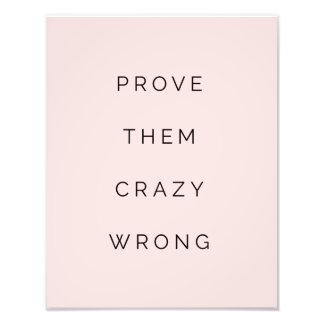 Pruébelos que se ruboriza la cita de motivación cojinete
