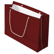 Prune-Colored Large Gift Bag