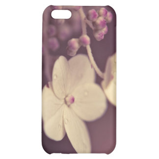 Prune Floral Speck Case Case For iPhone 5C