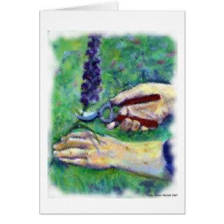 Pruning Shears Card