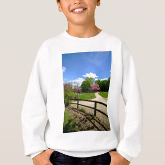 Prunus Park in Velvia Film Sweatshirt