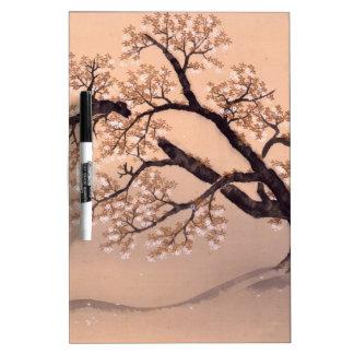 Prunus tomentosa dry erase whiteboard