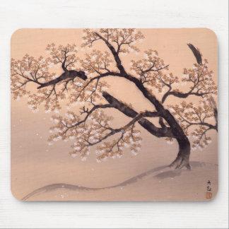 Prunus tomentosa mousepad