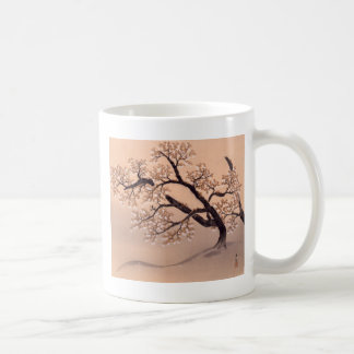 Prunus tomentosa coffee mug
