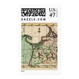Prusia 2 sello postal