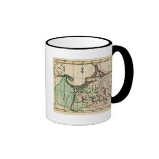 Prusia 2 taza de dos colores