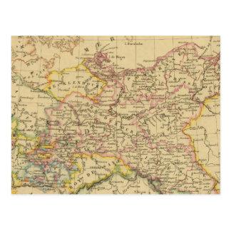 Prusia 4 postal