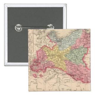 Prusia 7 pin cuadrada 5 cm