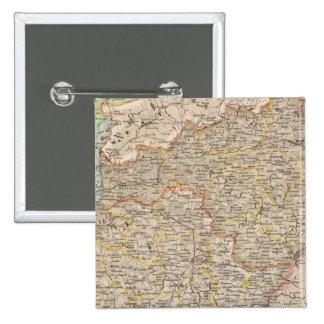 Prusia, Alemania, Polonia 3 Pin Cuadrado