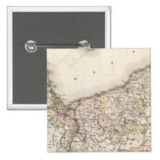 Prusia, Alemania, Polonia 4 Pin Cuadrado