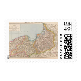 Prusia de Ost u Westpreussen, del este y del oeste Estampilla