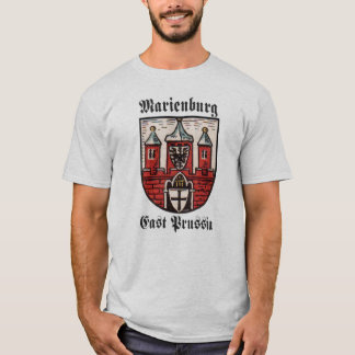 Prusia del este de Marienburg Playera