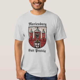 Prusia del este de Marienburg Polera