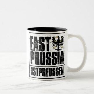 Prusia del este taza de dos tonos