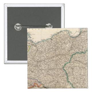 Prusia y Polonia Pin Cuadrado