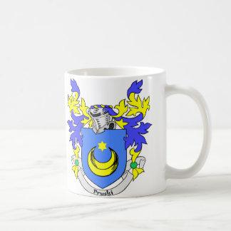 PRUSKI Coat of Arms Classic White Coffee Mug