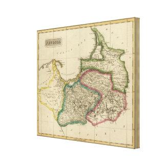 Prussia 2 canvas print