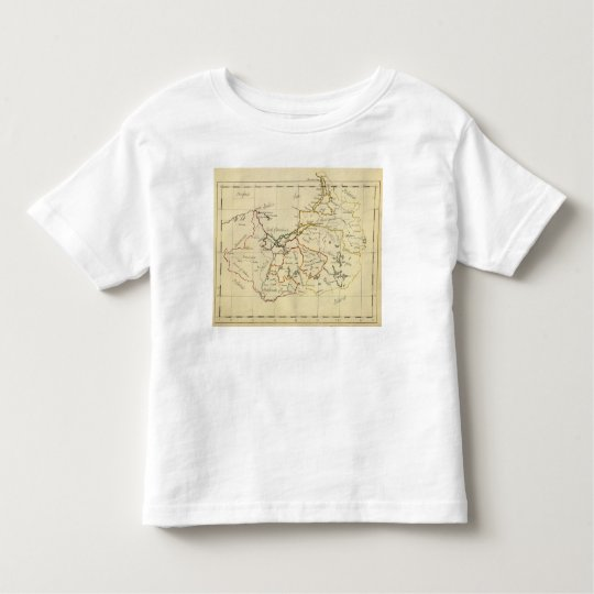 Prussia 3 toddler t-shirt