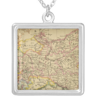 Prussia 4 silver plated necklace