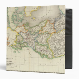 Prussia and Poland 3 Ring Binder