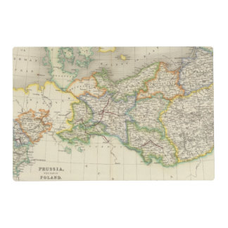 Prussia and Poland Laminated Placemat