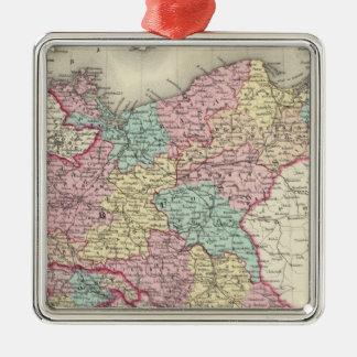 Prussia And Saxony Metal Ornament