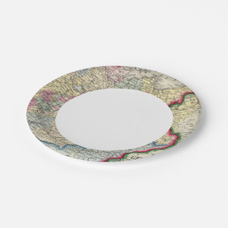 Prussia, And The German States Paper Plate
