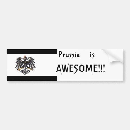 Prussia Bumpersticker Bumper Sticker