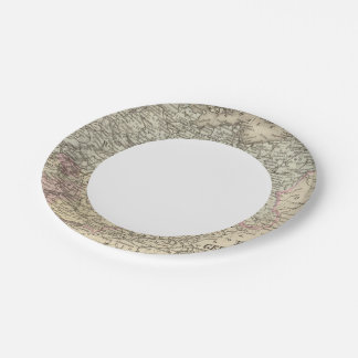 Prussia, German States Paper Plate