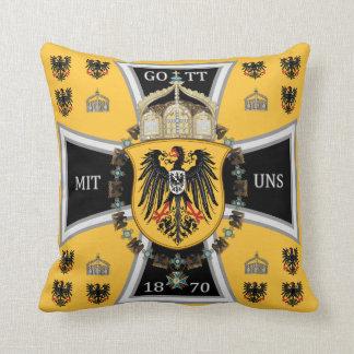 Prussia Keiser Flag Throw Pillow