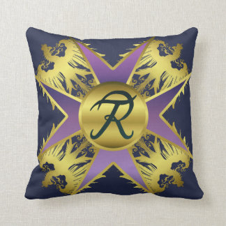 Prussia Medal Throw Pillow