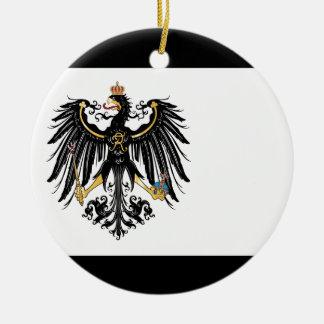 Prussia.png Adorno Navideño Redondo De Cerámica