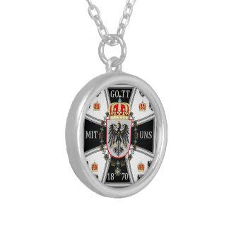 Prussia Round Pendant Necklace