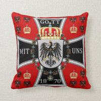 Prussia Royal Standard Throw Pillow