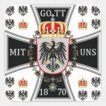 Prussia Square Sticker