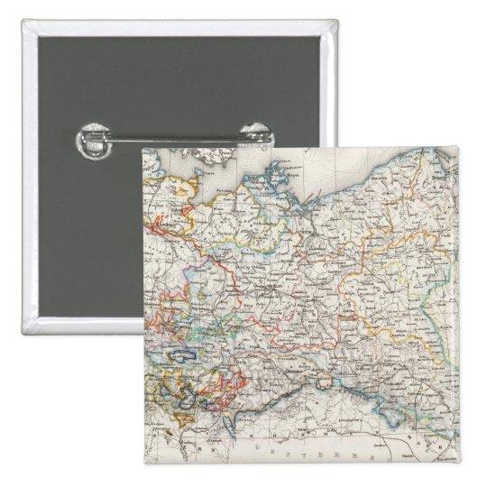 Prussia, Switzerland Pinback Button