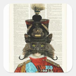 PRUSSIAN CAT STICKER W MATCHING ARABIAN CAT STICKE
