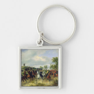 Prussian cavalry on expedition, c.19th key chain
