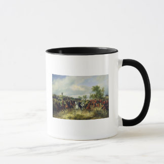 Prussian cavalry on expedition, c.19th mug