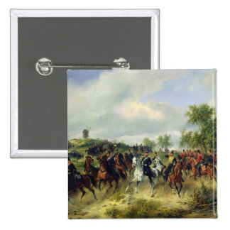 Prussian cavalry on expedition, c.19th pin