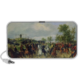Prussian cavalry on expedition, c.19th laptop speakers
