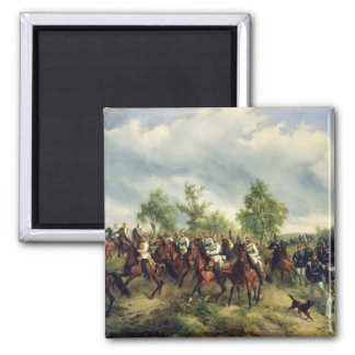 Prussian cavalry on expedition magnet