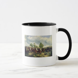 Prussian cavalry on expedition mug