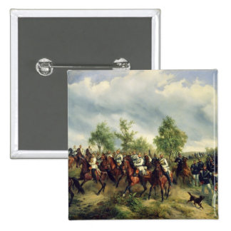 Prussian cavalry on expedition pins